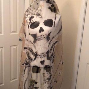 Cara Skull scarf